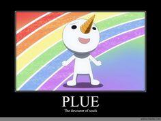 My friend loves plue!