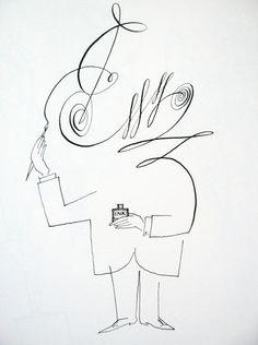 by Saul Steinberg