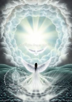 Light in the Dark   -  Artwork for my Angel Oracle Card deck which will hopefully be released during the second half of 2015.  http://www.kimdreyerart.com/store/c2/Angel_Oracle_Cards_Art_Prints.html