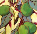 Six Limes...  Original: sold  Acrylic 16 x 12  Reproduction: $125.00      20 x 16