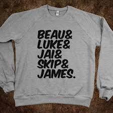 The Janoskians shirt :)