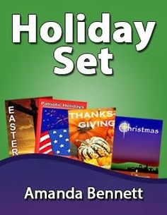 Holiday Unit Study Set: Includes Thanksgiving, Christmas, Easter, and Patriotic Holidays unit studies, 16 weeks of studies for grades K-12!
