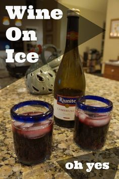 Riunite on ice, Riunite so nice (yes, I reviewed it!)