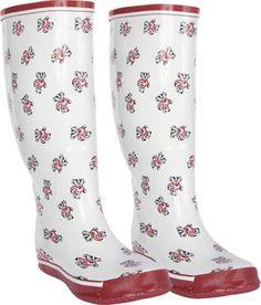 Wisconsin badgers rain boots