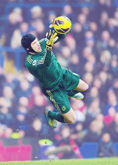 Chelsea No1. Peter Cech.