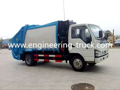 Waste Transfer Station, Rubbish Truck, Garbage Collection, Garbage Truck, Recreational Vehicles, Trucks, Book Illustrations, Engineering, Camper