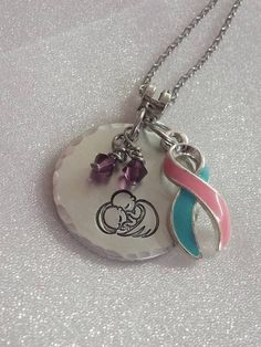 Pregnancy Loss  Infant Loss Jewelry  by ExquisiteStampDesign