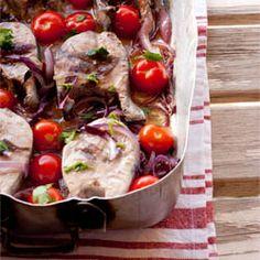 Baked Tuna Steaks