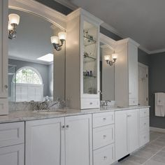 Gray And White Bathroom Design, Pictures, Remodel, Decor and Ideas