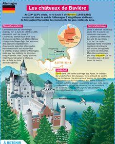Fiche exposés : Les chateaux de Bavière