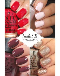 The hottest and most flattering nail trends, nail styles and nail fashions we can't get enough of. Perfect nail art ideas and ways to paint your nails for the holidays. Look beautiful down to your fingertips.Try our nail inspiration ideas and the best nail polish we've found. Our tips on how to take care of your nails, the tricks of nail art and numerous extraordinary nail designs. Be pretty and Nail It with us!
