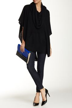 Laurel Cashmere Poncho by 360 CASHMERE on @nordstrom_rack