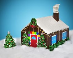 duct tape gingerbread house   Duck Tape gingerbread house   duct tape!!!