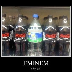 Eminem, Is That You? by davidlovesmen - A Member of the Internet's Largest Humor Community Eminem Funny, Eminem Memes, The Real Slim Shady, Heavy Metal, Very Demotivational, Eminem Photos, Eminem Slim Shady, Rap God, Best Rapper