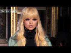 Model Daphne Groeneveld for Fall/Winter 2013-14 | FashionTV - YouTube