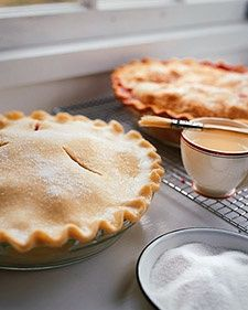 Pie Crust 101 and more on MarthaStewart.com