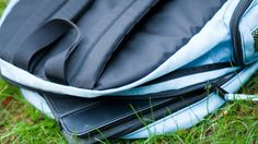 Too-heavy backpacks cause back damage for students