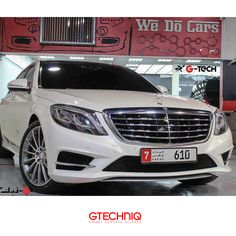 #MercedesBenz S500 Protected by Gtechniq Stockist Gtech 🌐 PROTECT THE THINGS YOU LOVE .إحمى كل ما تحب 🔴#Gtechniq