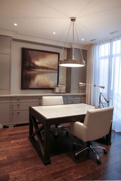 Home Office - Row Home Renovation & Addition, Yorkville | whitehallhomes.ca