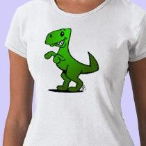 Dino on a T-Shirt @ #Zazzle