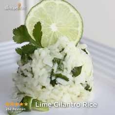 """Lime Cilantro Rice   """"Easy & delicious. Made the rice in the rice cooker then added the other ingredients, making no changes in quantities. It has a lot of flavor without a lot of calories. Will make this again."""""""