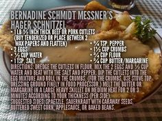 This recipe by our cousin, Bernadine (Schmidt) Messner, is going into the Schmidt Family Reunion Cookbook! Add your best Schmidt family recipes to the cookbook by submitting them here: http://schmidtsreunite.com/2015/07/06/add-recipes-to-the-schmidt-family-cookbook/