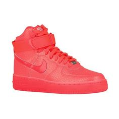 online store a210d db9a5 Nike AF1 Mid Women s ( 110) ❤ liked on Polyvore featuring shoes, nike, nike  shoes, genuine leather shoes, nike footwear and leather shoes