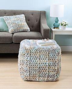 Learn How to Crochet Poufs & Pillows