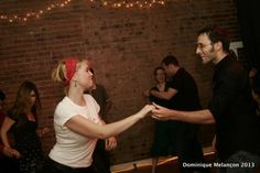 Here's  a picture from our last swing dance party on June 8th 2013 with Ryan Lague & Orchestra. As usual, our bring your own booze formula brought several people in our venue downtown Montreal. Check out the website to learn all about our future events.  www.rocknswingmontreal.com  Visit also our dance school website to learn more about workshops and classes to come.  www.swingdancemontreal.com  www.swingdancemontreal.blogspot.ca