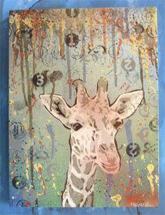 giraffe by ~kesone on deviantART