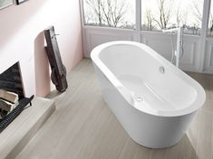 Download the catalogue and request prices of Bettestarlet oval silhouette By bette, freestanding oval bathtub, oval bathtubs Collection