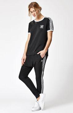 8c5cb0e051e3 3-Stripes Ringer T-Shirt Pacsun