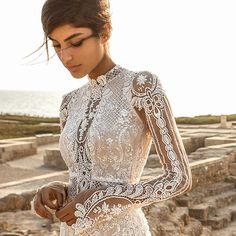 "Gala by Galia Lahav is the premium made-to-order bridal line from Galia Lahav. The latest collection, ""Gala No. III"", takes its inspiration"