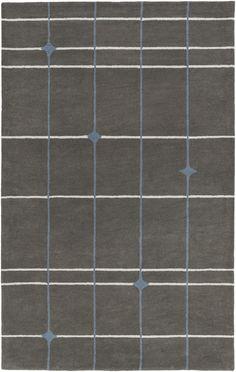 Surya MOD POP MPP4510 Grey/Grey Modern Area Rug