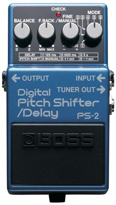 Digital Pitch Shifter/Delay PS-2