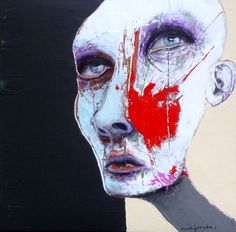 Sylvain Coulombe - Saw this artist at Blanche Galerie D'Art in Montreal.  My husbands new favorite artist.