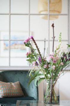 Blumen im Wohnzimmer Impression via susamamma.de