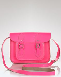 aa959929a395 I ve been seeing The Cambridge Satchel Company s fluorescent satchels  everywhere...luv