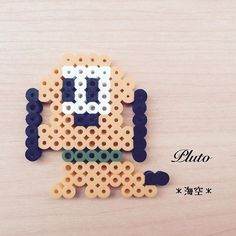 Pluto perler beads by kaisora0_0