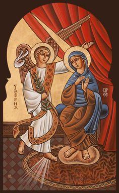 primo mistero della gioia...annuncio della nascita del salvatore dell'arcangelo gabriele a maria santissima