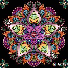 Mandala Drawing, Mandala Painting, Dot Painting, Yin Yang Art, Wal Art, Mandala Design, Hamsa Design, Mandala Coloring, Arabesque