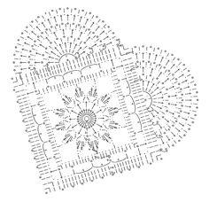 Com Best 11 crochet – SkillOfKing. Crochet Sloth, Crochet Art, Crochet Motif, Knitted Heart Pattern, Crochet Butterfly Pattern, Doily Patterns, Heart Patterns, Crochet Patterns, Plaid Au Crochet