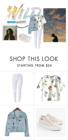 """TROYE SIVAN WILD REMIX WITH ALESSIA CARA INSPIERD OUTFIT"" by yaire787 ❤ liked on Polyvore featuring Chicnova Fashion, Vans and Wet Seal"
