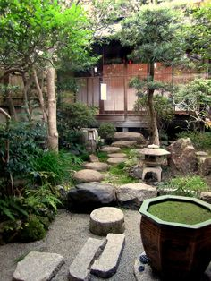 Peacefully Japanese landscape Zen Garden for your - Japanese Garden Design Japanese Garden Landscape, Small Japanese Garden, Japanese Garden Design, Japanese Gardens, Japanese Style, Small Oriental Garden Ideas, Japanese Garden Lighting, Japanese Garden Backyard, Cute Japanese