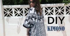 DIY, patrones, ropa de bebe y mucho más para coser.: Kimono DIY (tutorial y patrones gratis)