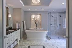 Light Traditional Bathroom by Paul Knutson on HomePortfolio