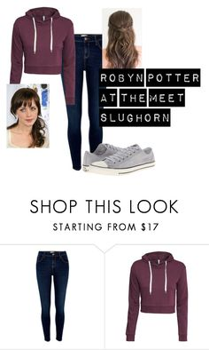 """Robyn Potter meets Slughorn"" by laws3452 ❤ liked on Polyvore featuring beauty, River Island, H&M, Converse and Levi's"