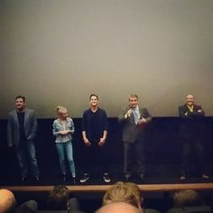The feels when Legendary Producer Joel Silver, Director Shane Black, Matt Bomer, rising star Angourie Rice and Russell Crowe pop in to introduce their rather awesome The Nice Guys #theniceguys #joelsilver #russellcrowe #allthefeels