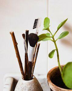 Shake My Blog   Des pinceaux de maquillage version branche DIY