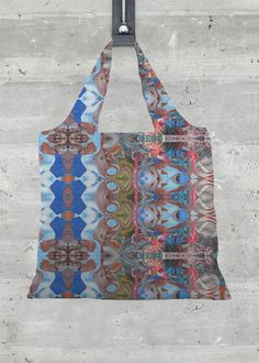 Whether on a trip to the farmer's market or to Hawaii, this ultra-lightweight Foldaway Tote lends extra storage without weighing you down. Made from recycled materials and featuring an all-over print of original artwork. Signature Design, Fashion Labels, Extra Storage, Recycled Materials, Original Artwork, Hawaii, Rainbow, Clothing, Artist